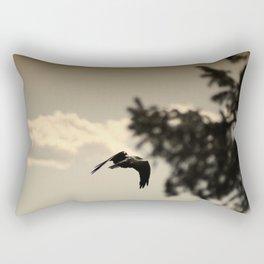Alfred Hitchcock's View in Utah Rectangular Pillow