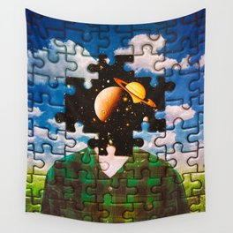 Puzzled Wall Tapestry