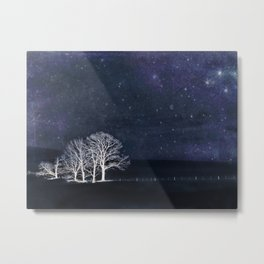 The Fabric of Space and the Boundary of Knowledge Metal Print