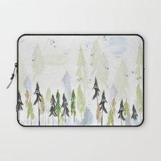 Into the woods woodland scene Laptop Sleeve