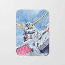 Unicorn Gundam Red Psycho-frame Bath Mat