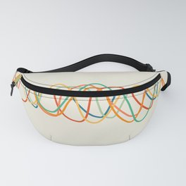 Colorful Heart Rate Fanny Pack