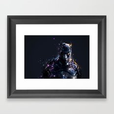 The Caped Crusader Framed Art Print