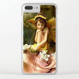 Autumn Fairy 2 Clear iPhone Case