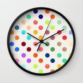 Polka Proton Wall Clock