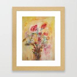 Sensual flowers 2 Framed Art Print