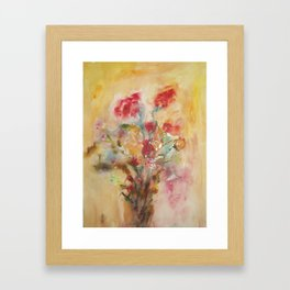 Sensual flowers 2 Framed Art Print
