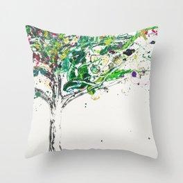 The tree of Secrets Throw Pillow