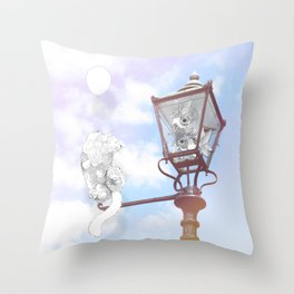 Wondering Why? Throw Pillow