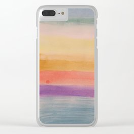 Beach, Good Vibes and Ice Cream Clear iPhone Case