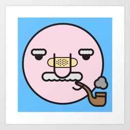 smokey joe Art Print