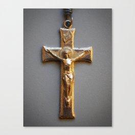 Crucifix Canvas Print