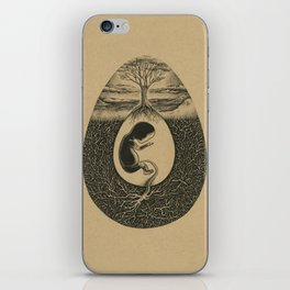 Natural Birth iPhone Skin