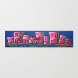 houses of the block 2 Canvas Print