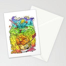 Maneki-Neko Noodles  Stationery Cards