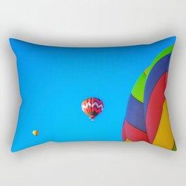 Flying Away hot air balloons Rectangular Pillow