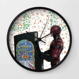 Blind Hero (Local Lad) Wall Clock