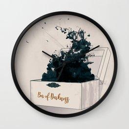 Box of Darkness Wall Clock