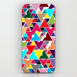 Abstract Invasion iPhone Skin