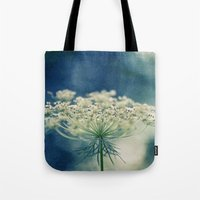 lace Tote Bags featuring Lace by Sandra Arduini