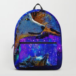 WOLF DREAMS AND VISIONS Backpack