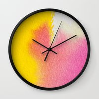 literature Wall Clocks featuring Literature of Love #society6 by 83 Oranges™