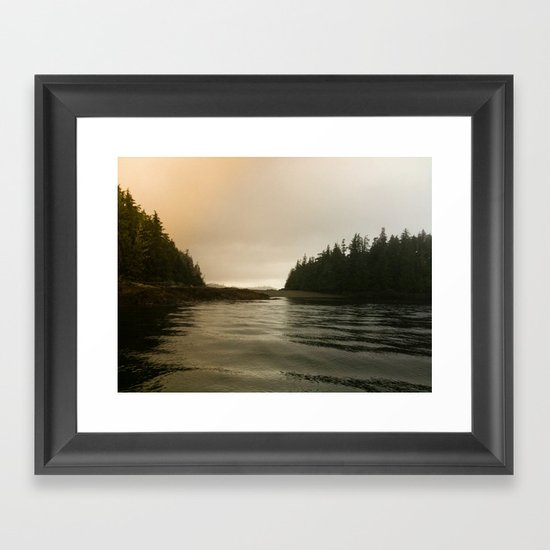 They Mysterious Island Framed Art Print