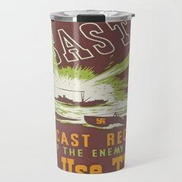 Vintage poster - Disaster Travel Mug