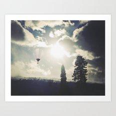 Telluride Sunset Art Print