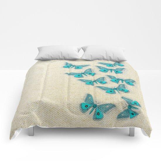 "Coletivo ""Mariposas"" Comforters"