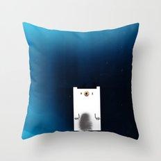 Polar Night Throw Pillow