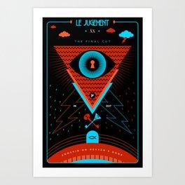 TAROT. XX- Le Jugement Art Print