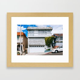 Manhattan Beach - Los Angeles, USA - #17 Framed Art Print