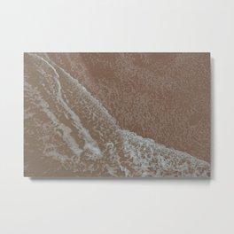 Sea and sand Metal Print