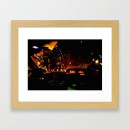 Lost in Some City No. 5 Framed Art Print