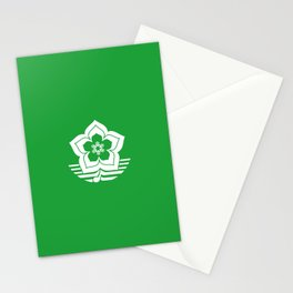 flag of Harbin Stationery Cards