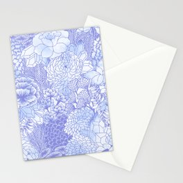 Icy Bloom Stationery Cards