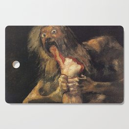 SATURN DEVOURING HIS SON - GOYA Cutting Board