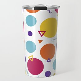 Dotted in the 80s Travel Mug