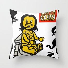 ZAPPA CRAPPA Lego Minifigure Throw Pillow