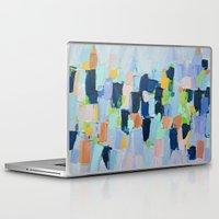 marine Laptop & iPad Skins featuring Marine Arietta by Ann Marie Coolick