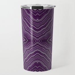Abstract #9 - IX - Purple Travel Mug