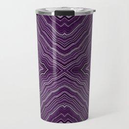 Abstract #9 - IX - Purple Travel Mug