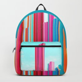 Colorful Rainbow Pipes Backpack