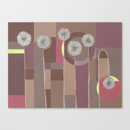 Lazy Bloomer Canvas Print