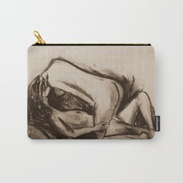 Female Figure Study In Love Carry-All Pouch