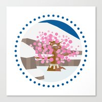 okami Canvas Prints featuring Okami - Kamui by jindesign