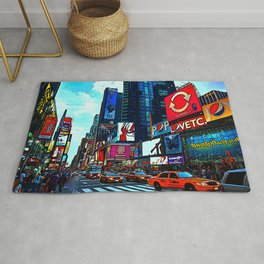 Times Square Rug