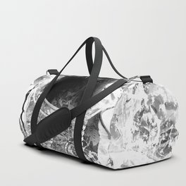 RIP BIGGIE (BLACK & WHITE VERSION) Duffle Bag