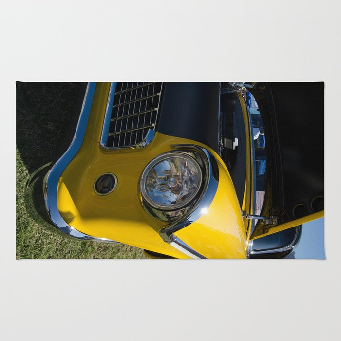 Vintage Auto Front End Rug